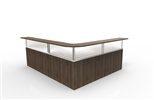 Make the best use of every corner with corner reception desk designs by Fluid Concepts.
